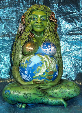 The Earth Mother is Expecting Free Energy