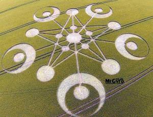 Goddess Crop Circle