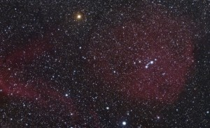 An image I captured using his Photopic 360 Degree view of the Universe.