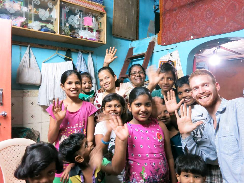 A trip through India cemented Pete's belief in following his passion to spark connection through public acts.