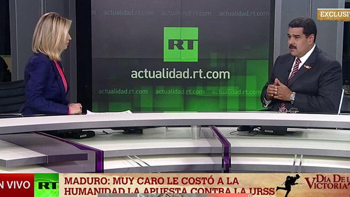 Still from RT air