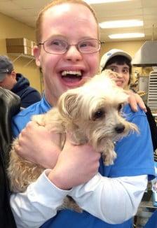 ArcBARKS boy with dog facebook
