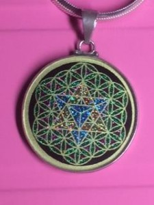 Black tourmaline-Flower of Life with Merkaba-IMG_3841