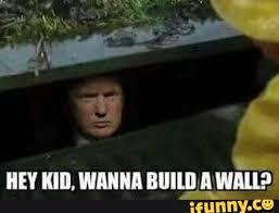 Donald Trump In A Gutter