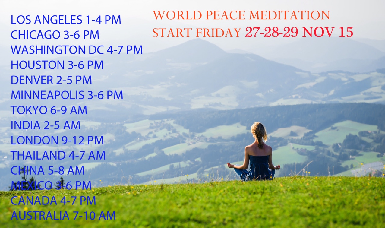 PFC World Meditation Days