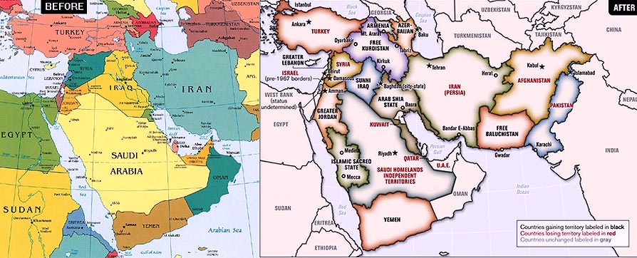 Balkanizing the Middle East: The REAL Goal of America and Israel ...
