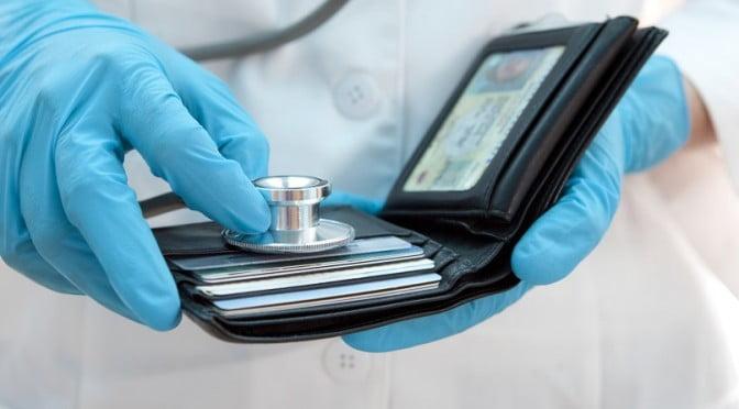 Stethoscope Health Economy Wallet Trouble Money