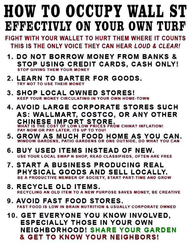 how-to-occupy-wall-st-effectively-on-your-own-turf-fight-with-your-wallet-to-hurt-them-where-it-counts-this-is-the-only-voice-they-can-hear-loud-clear-barrow-money-banks-credit-cards-c
