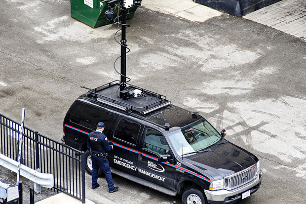 This type of portable cell tower can be deployed in a very short time and moved to meet the needs of law enforcement investigations and also eliminate the need for expensive installations. More commonly the stingray systems are piggy backed on existing towers owned by compliant providers.