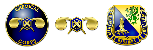 Regimental insignia of the United States Army Chemical Corps