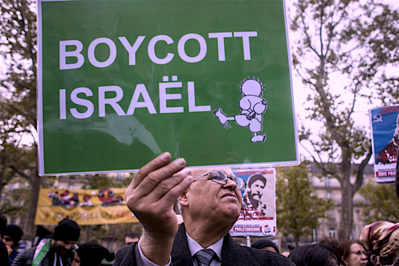 Israel's campaign against the Palestinian Boycott, Divestment and Sanctions National Committee (BNC) The movement threatens basic freedoms all over the world. Michael Bunel NurPhoto