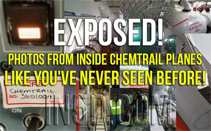 EXPOSED! Photos From INSIDE Chemtrail Planes Like You've NEVER Seen Before!