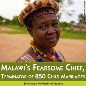 Malawi's chief