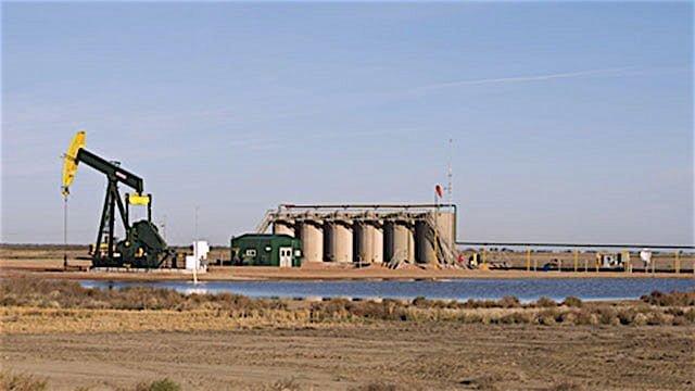 Oil well in Northe Dakota