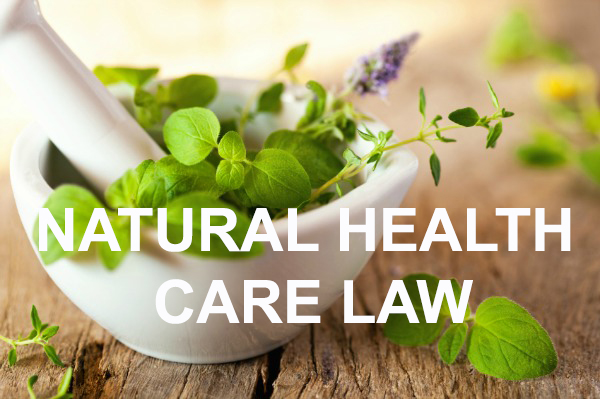 Natural-Health-Care-Law