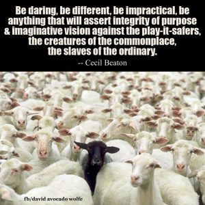 be different - sheep