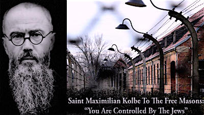 Maximilian Kolbe was a Polish Catholic Priest & prisoner #16770 at Auschwitz. Saint Kolbe died in the place of a Jewish man at the hands of a German doctor who injected carbolic acid into his veins on August 14, 1941. ~ When a prisoner escaped from the camp, the Nazis selected 10 others to be killed by starvation in reprisal for the escape. One of the 10 selected to die, Franciszek Gajowniczek Jewish prisoner #5659 began to cry: My wife! My children! I will never see them again! At this Maximilian Kolbe stepped forward and asked to die in his place. His request was granted … Wikipedia continues to incorrectly label Gajowniczek as a Roman Catholic.
