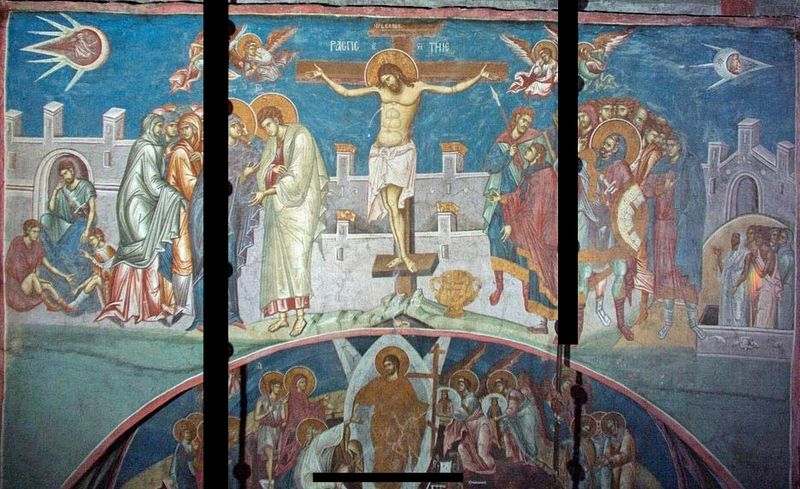 UFO's and Ancient Art - Crucifixion of Christ
