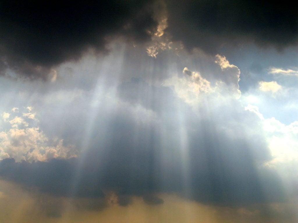 God has come.