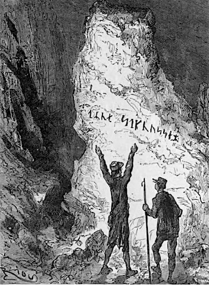 Discovery of the runes in Journey To The Center of theEarth. What did Jules Verne know about Inner Earth?