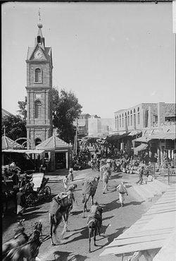 Jaffa clock tower pre1914