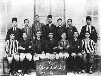 Jaffa high school soccer team