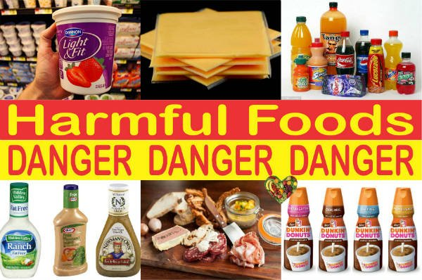 Harmful Additives In Fast Food