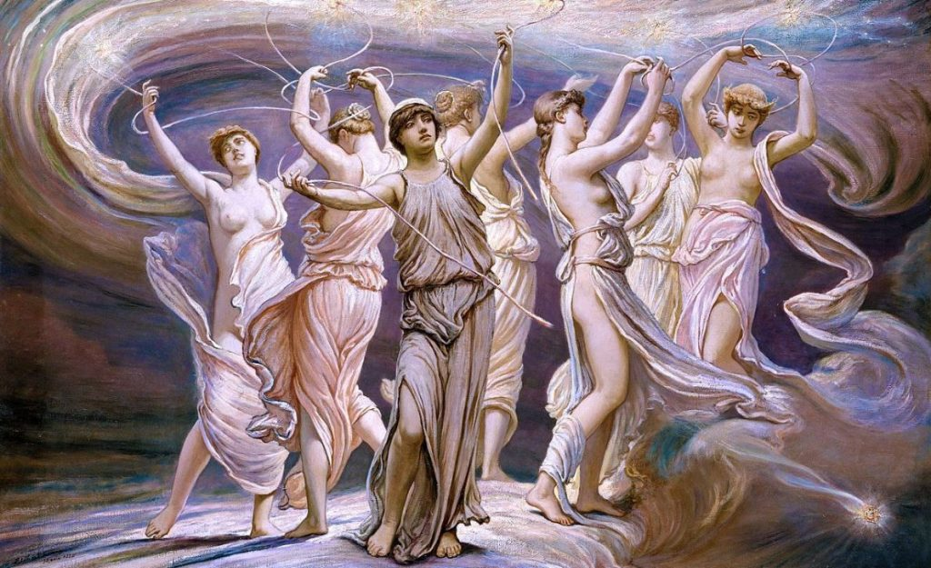"Painting: ""The Pleiades"" (1885)"
