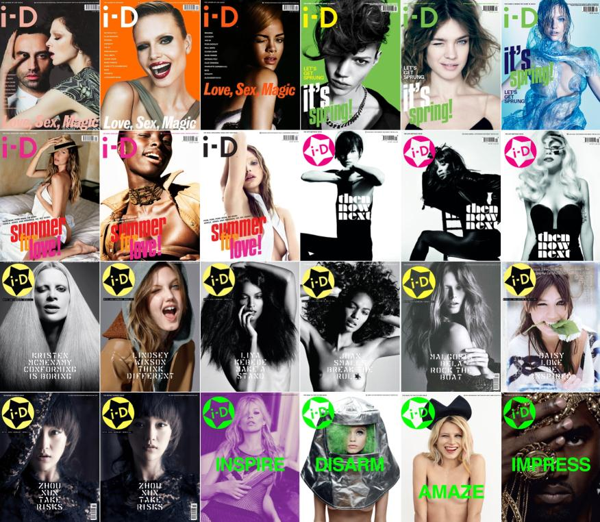 i-d magazine 2010 covers