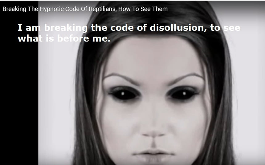 BREAKING THE HYPNOTIC CODE OF REPTILIAN - HOW TO SEE THEM