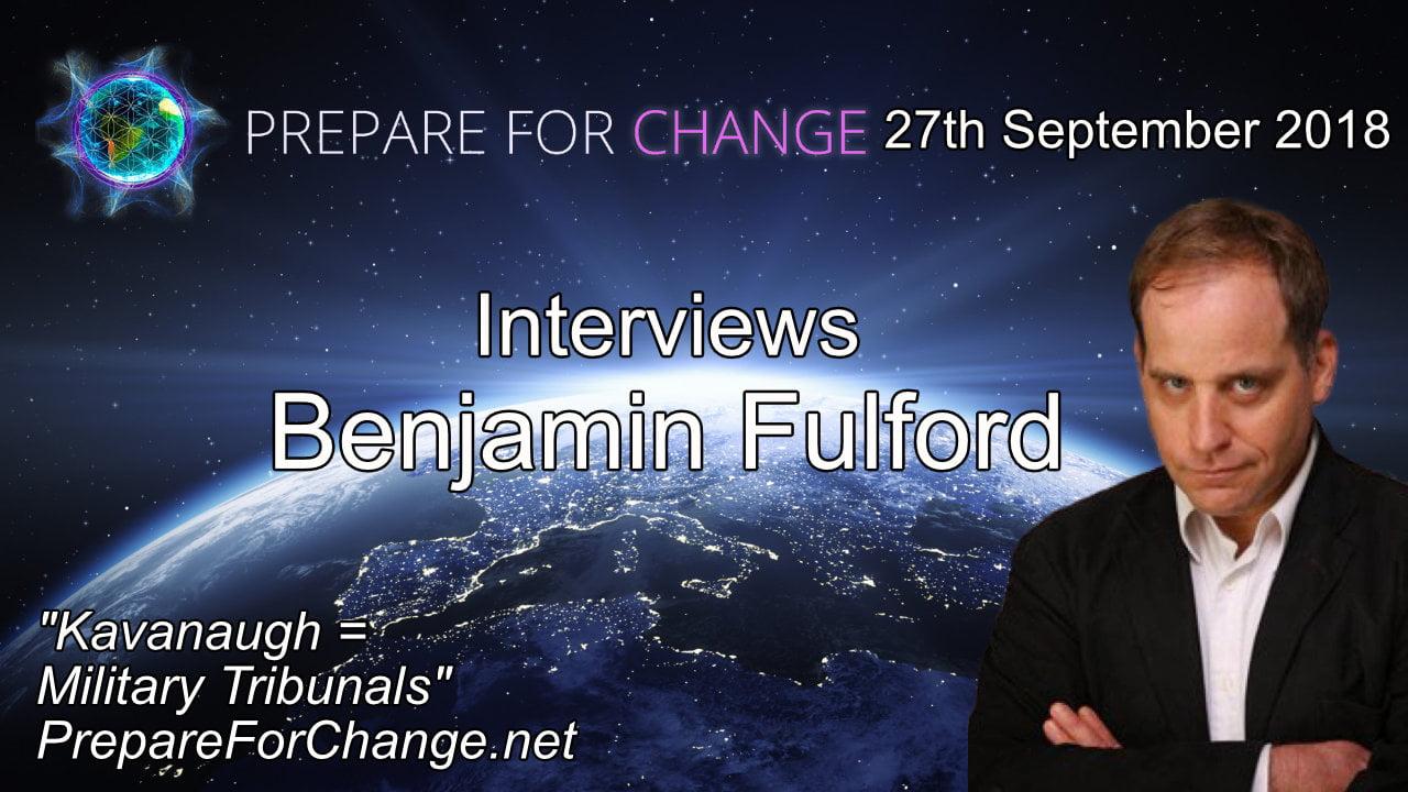 Prepare For Change Benjamin Fulford Interview Graphic