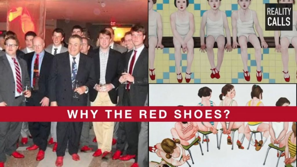 Image result for epstein red shoes
