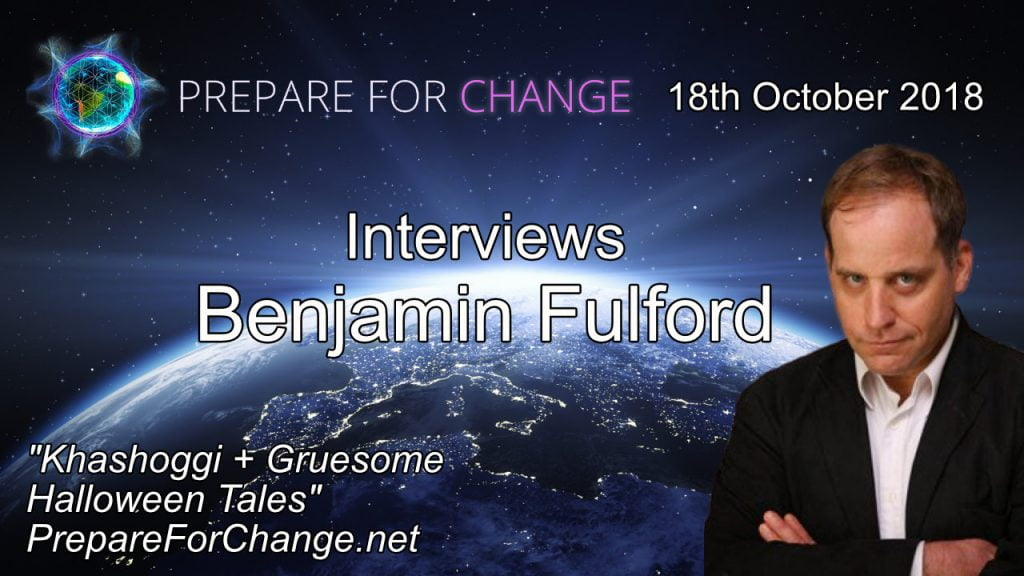 Graphic for the 18th October 2018 Interview with Benjamin Fulford