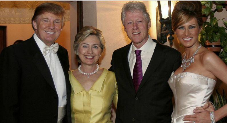 Trump Clinton Clinton Trump