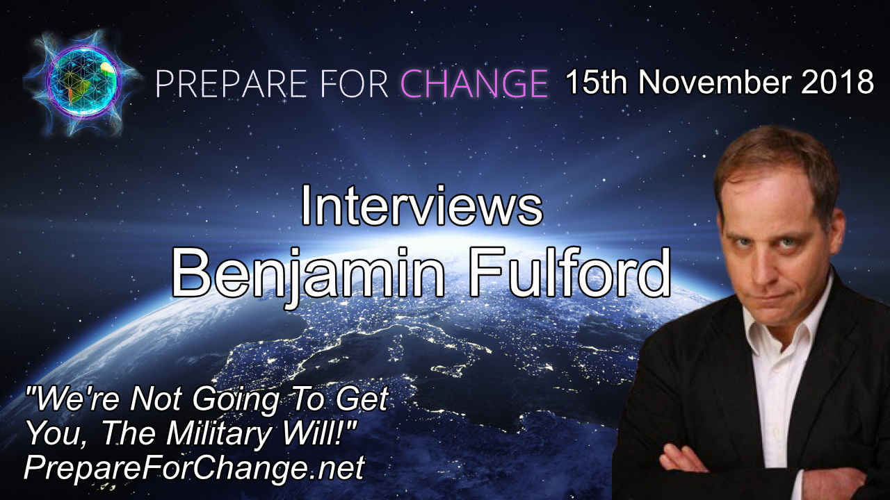 PFC Benjamin Fulford Interview Graphic We're not going to get you, the military will!