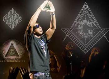 Rapper JayZ illuminati