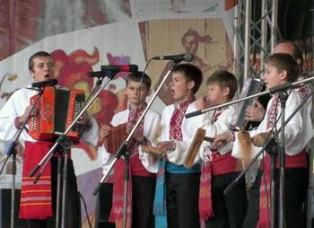 Ukraine youth festival music