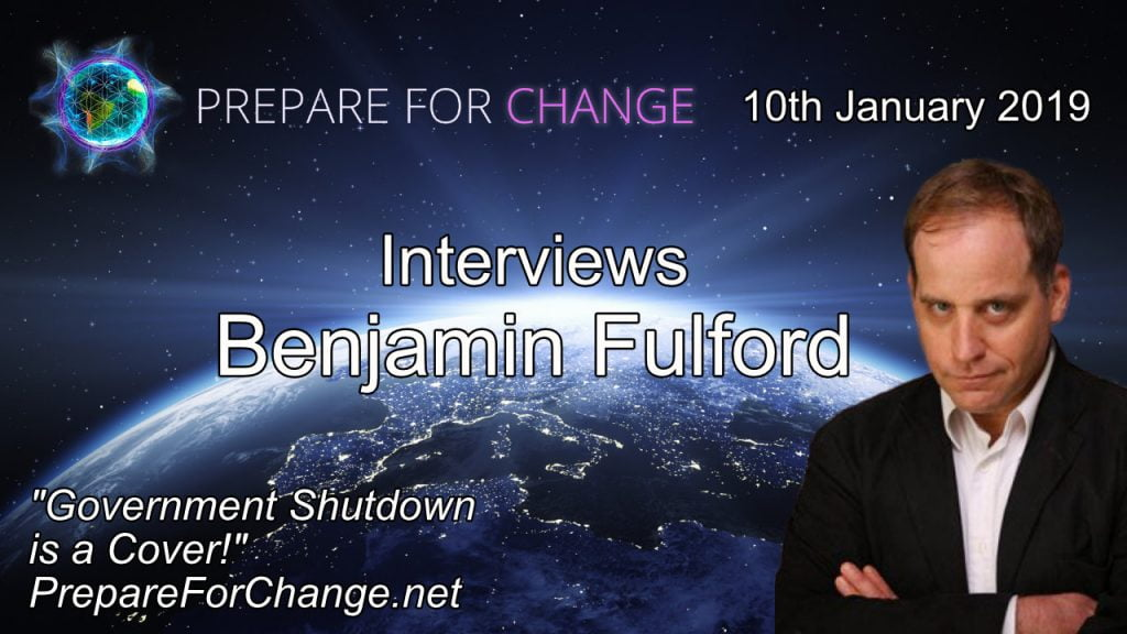 Benjamin Fulford Interview 10th Jan 2019 Cover Image