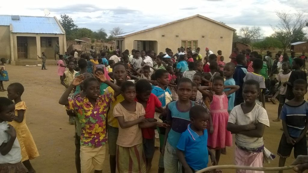 Malawi orphanage children enjoy a day at the Nova Gaia orphanage