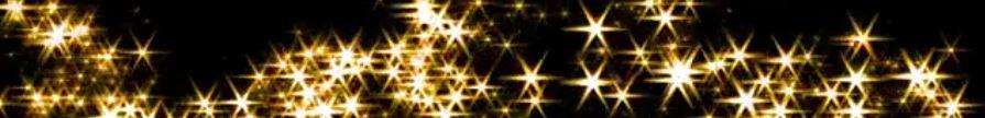 graphic: stars on a black sky