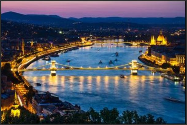 Image: Budapest and Danube River