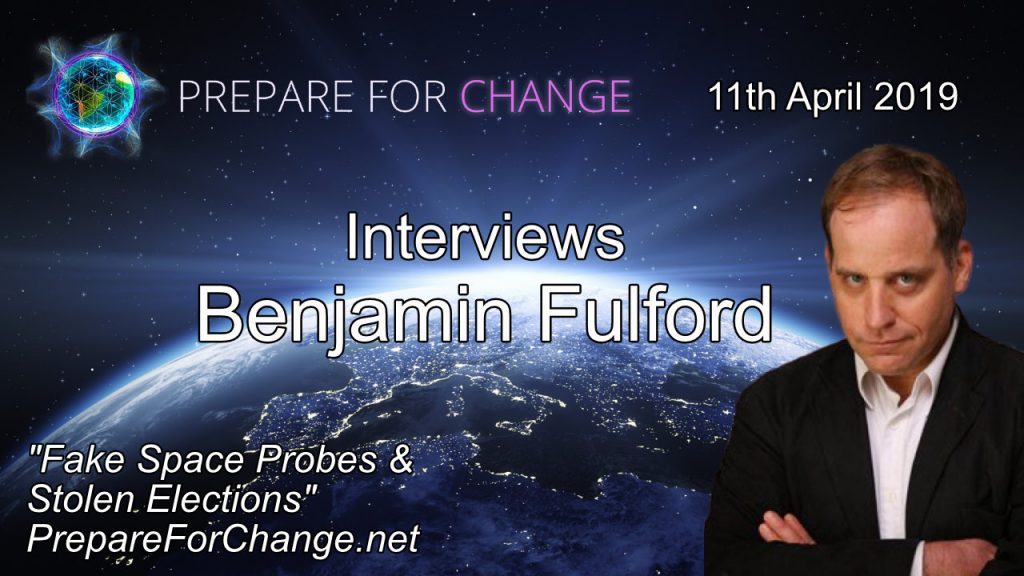 Benjamin Fulford Interview 11th April 2019 Graphic
