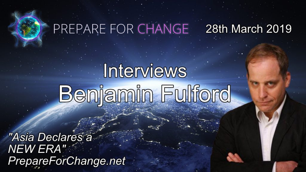 Benjamin Fulford PFC interview graphic for the 28th March 2019