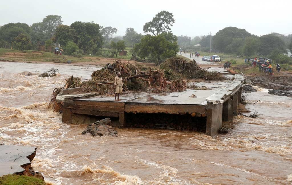 Aftermath of Cyclone Idai has left many homeless and in dire need.
