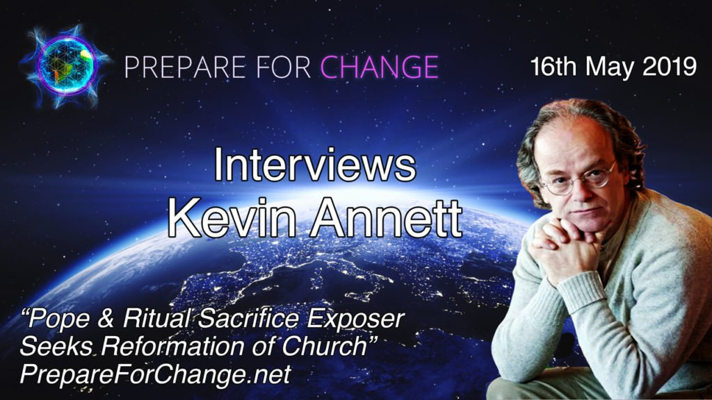 Kevin Annett Interview Graphic
