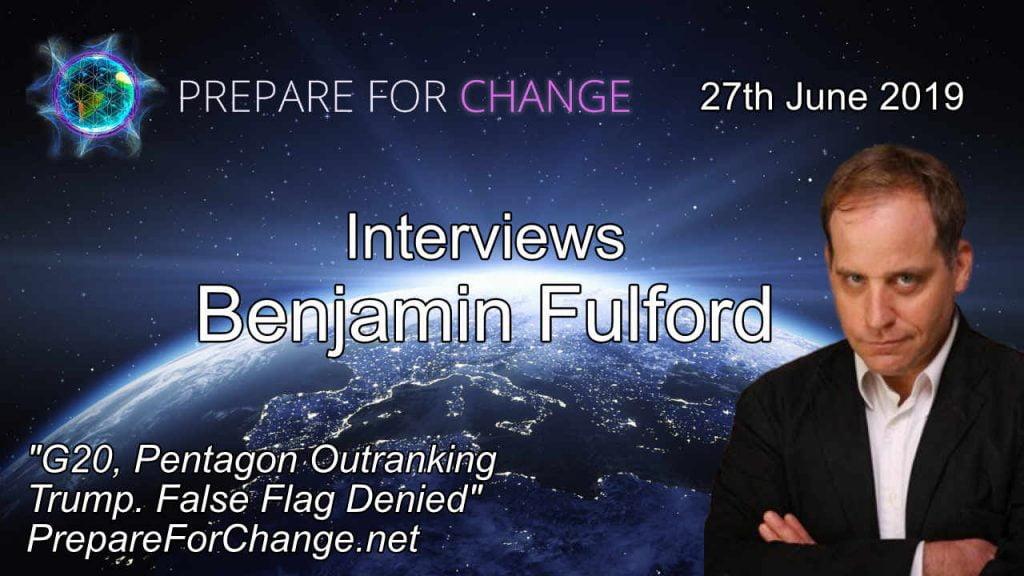 Benjamin Fulford Interview 27th June 2019