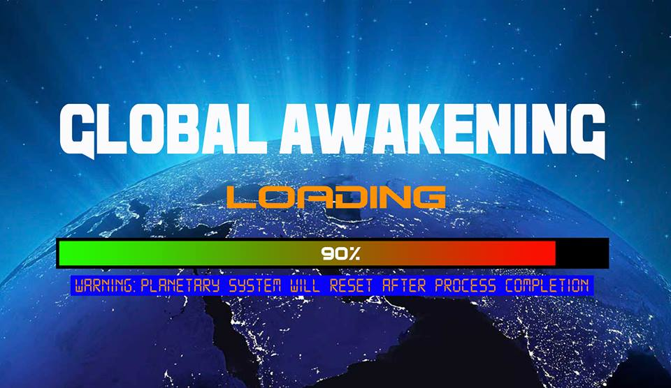 Global Awakening Loading Bar Graphic