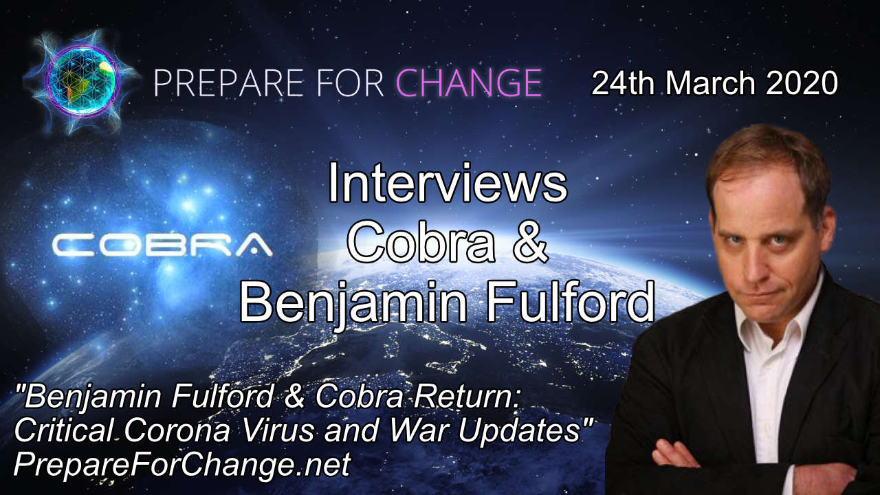 Cobra & Benjamin Fulford Interview Graphic