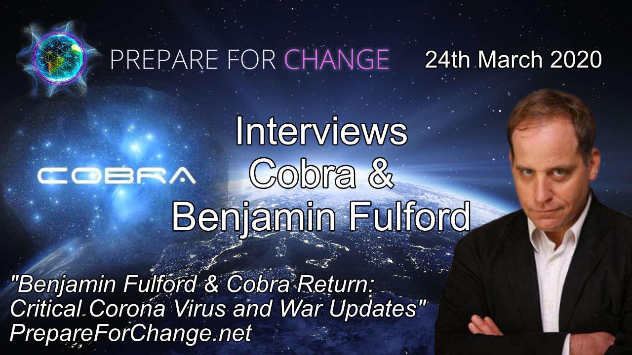 Cobra & Benjamin Fulford Interview Graphic