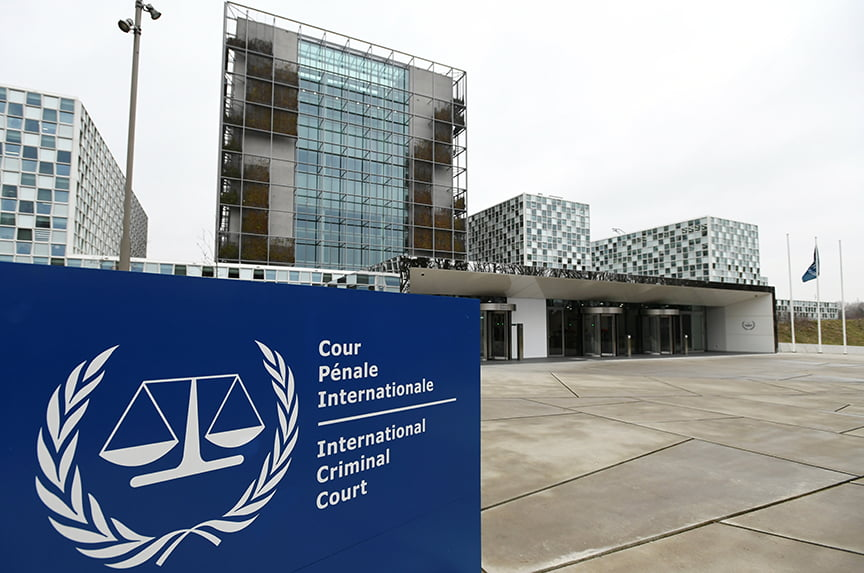 The US and Israel hope to scare the Hague war crimes court off from helping Palestine